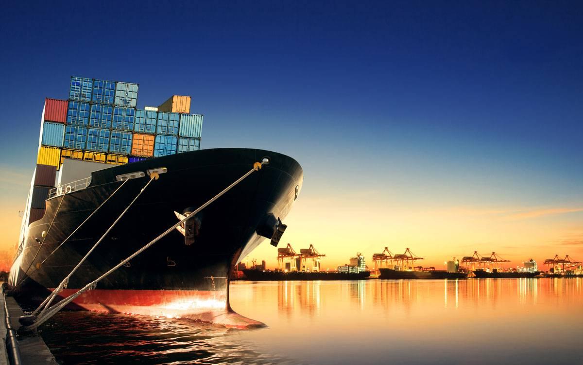 نمونه کشتی حمل و نقل دریایی